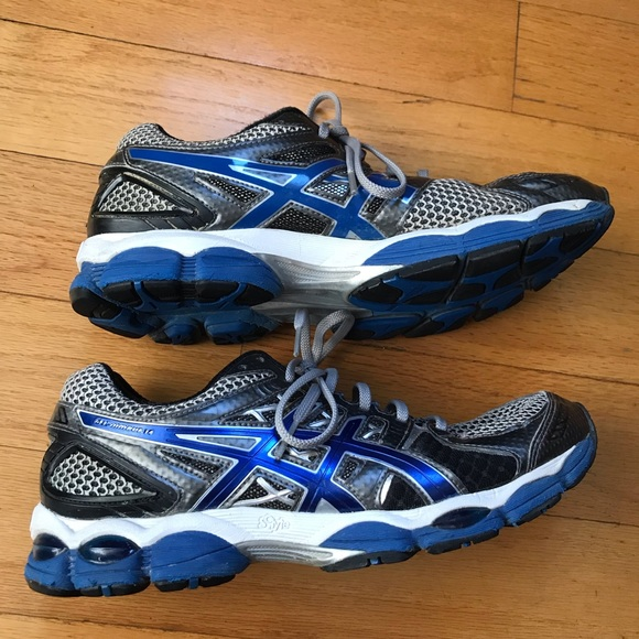 Asics Gel Nimbus 14 men's running shoes size 8